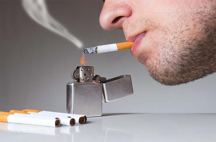 ارتباط سیگار و بوی بدن دهان