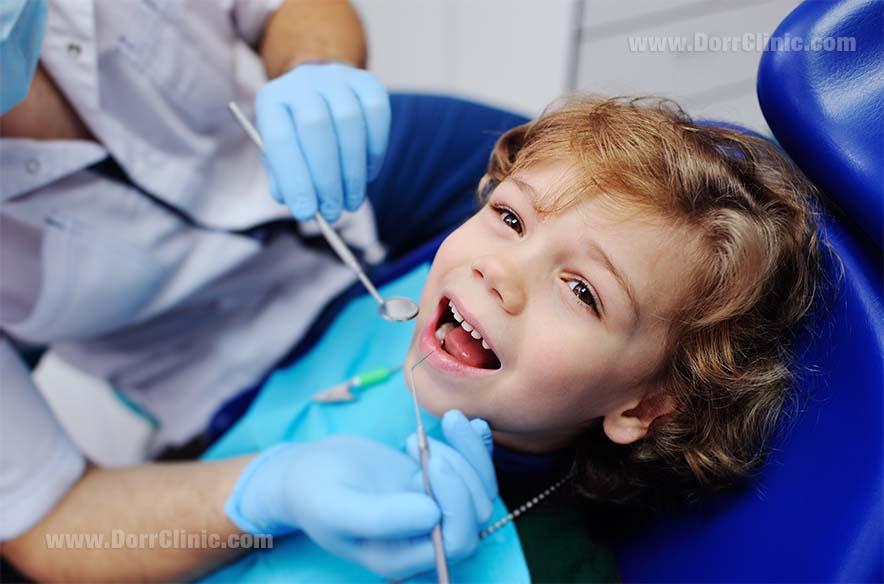 پر کردن دندان های کودکان