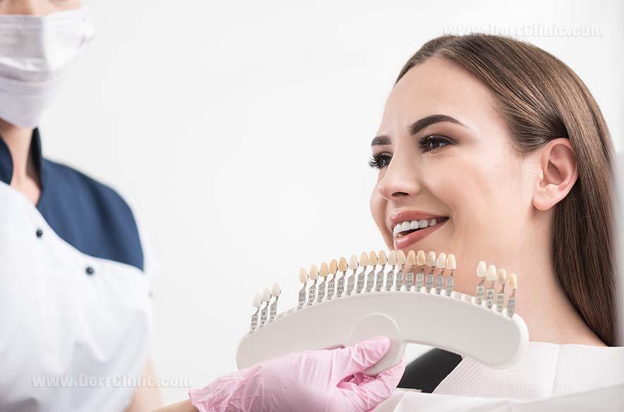 زیبایی و ترمیم دندان (لمینت)