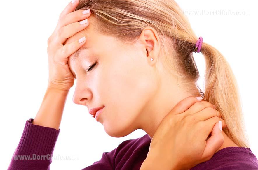 درمان سردرد و گردن درد با ارتودنسی
