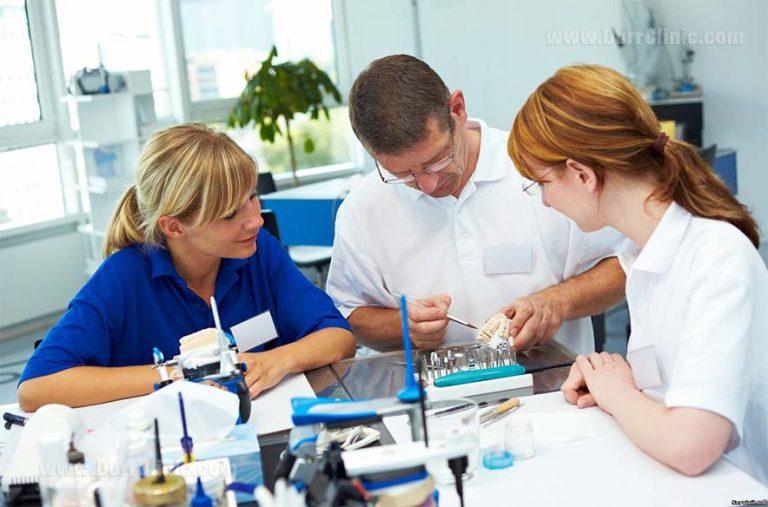 The process of making dental laminate