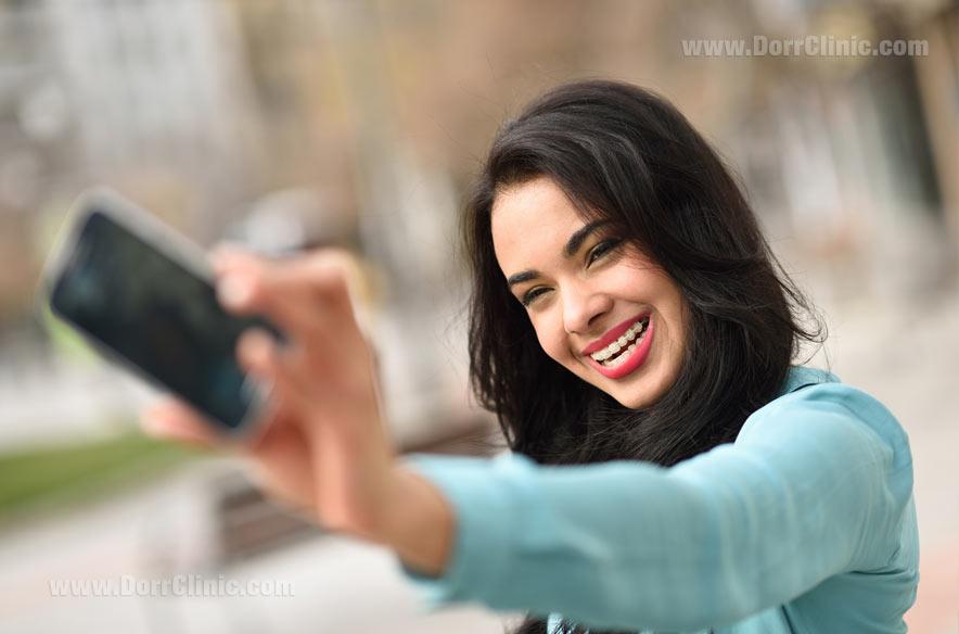 قبل از ارتودنسی از خودتان عکس بگیرید