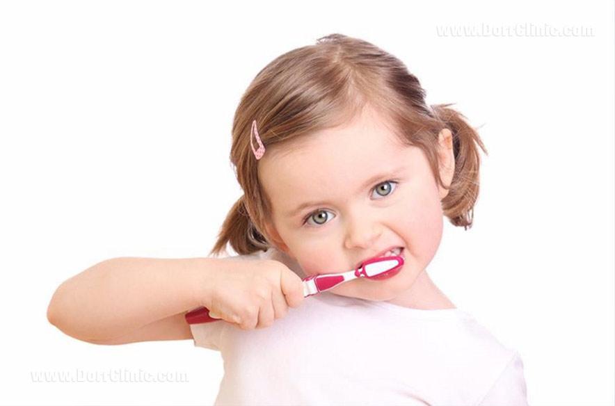 مسواک کودکان
